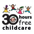 30 hours free childcare logo