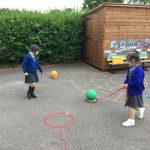 Reception - Outside garden activities